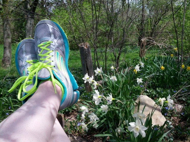 running shoes in spring